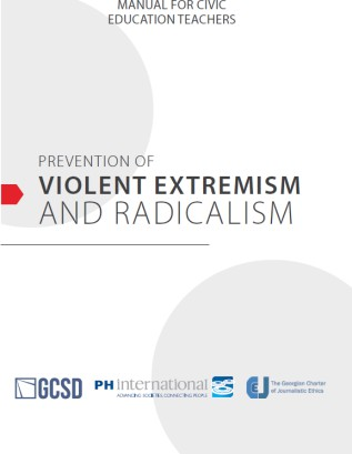 PREVENTION OF VIOLENT EXTREMISM AND RADICALISM - MANUAL FOR CIVIC EDUCATION TEACHERS